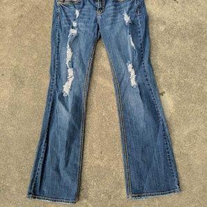 Rue21 Womens Premiere Denim Boot Cut Jeans